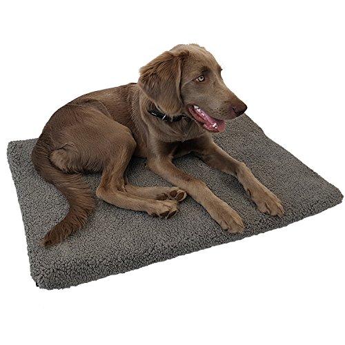 DILUMA Orthopädisches Haustierbett Laika S 60x40 cm - viscoelastische Hundematratze - optimaler Liegekomfort für Ihr Haustier - Hundebett mit abnehmbarem Bezug und Antirutschbeschichtung