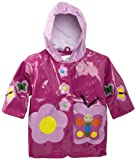 Kidorable Butterfly Raincoat, Purple, 12 18M