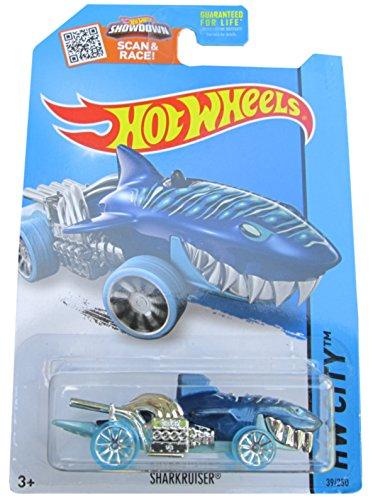 Hot Wheels 2014 HW City Street Beasts Sharkruiser (Shark Car) 39/250, Blue