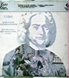 Critics choice - J.S. BACH Favorites from the Anna Magdalena Notebook (12' 33 rpm vinyl rcord)