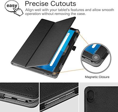 FINTIE Case for Lenovo Smart Tab P10 (TB-X705F/TB-X705L) / M10 (TB-X605F) 10.1-Inch Android Tablet 2018 Release…