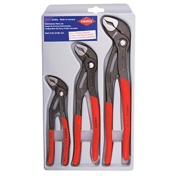 KNIPEX Tools - 3 Piece Cobra Pliers Set  7 10 & 12   002006US1