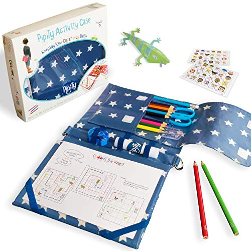 Pipity Arts Set for Girls and Boys, Fun Blue Arts & Crafts...