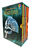 Usborne Beginners History 10 Books Collection Box Set (Stone Age, Iron Age, Egyptians, Ancient...