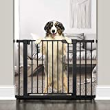 "Best Dog Gates - Cumbor 43.3""Auto Close Safety Baby Gate, Extra Tall Review"