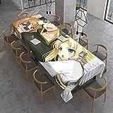 The Rising Of The Shield - Mantel rectangular para mesa a prueba de derrames, mantel decorativo para uso en interiores e interiores