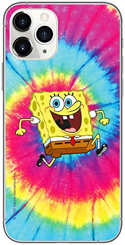 Ert Group NPCSBOB7824 Custodia per Cellulare SpongeBob 018 iPhone 11 PRO