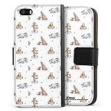 DeinDesign Étui Compatible avec Apple iPhone 5 Étui Folio Étui magnétique Winnie l'ourson Disney...