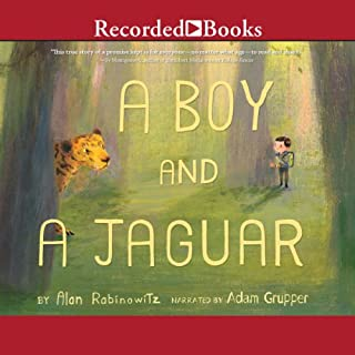 A Boy and a Jaguar audiobook cover art