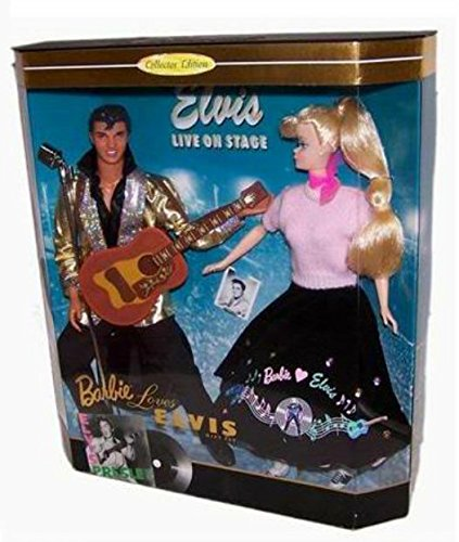 1997 - Barbie Loves Elvis Giftset - Celebrities Series - Pop Culture Collection