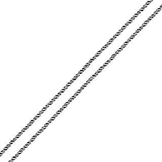 oxidized silver chain