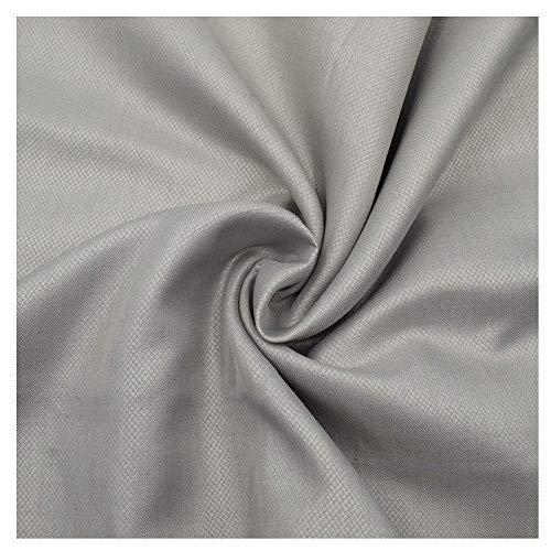 MOZHANG Tela de protección de radiación de fibra de plata nano de color, traje electromagnético de tela conductora conductora para hacer ropa de embarazo, cortinas, hojas, 150 cm de ancho (Tamaño: 3x1