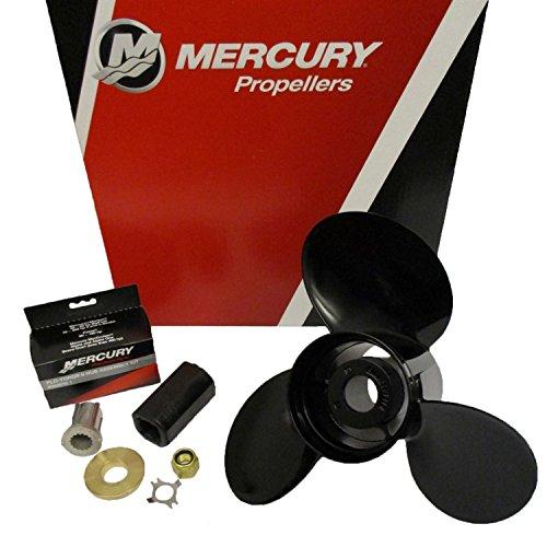 Mercury Marine Black Max 14 x 23 Pitch 3-Blade Aluminum Prop Propeller
