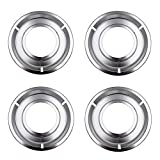 Supplying Demand 5303131115 4 Pack Chrome 8' Drip Pan Set Fits AP2137021 PS454077