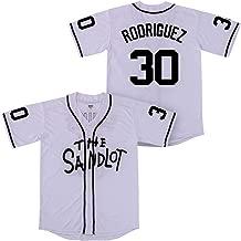 Kooy Benny The Jet Rodriguez #30 The Sandlot Movie Baseball Jersey Christmas Summer