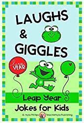 Image: Leap Year Jokes for Kids: A Leap Day Joke Book (Seasonal Joke Books 18) | Kindle Edition | by G. Nyla Phillips (Author). Publication Date: February 12, 2020