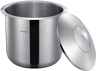 Pots et bocaux de conservation Baril de riz en acier inoxydable Seau à farine résistant aux insectes et à l'humidité Boîte...