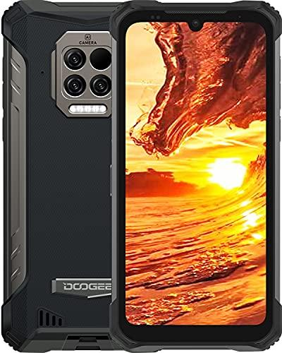 DOOGEE S86 Pro [2021] 8GB +128GB Movil Libre con Termómetro Infrarrojo, 8500mAh Batería, IP68 IP69K Movil Resistente Agua y Golpes, Triple Cámara de 16 MP, Helio P60 4G...