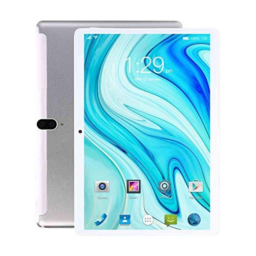 Tableta S20 de 10 Pulgadas, 8GB RAM + 128GB ROM con procesador de Cuatro núcleos, cámara de 8 + 13 MP, Llamada telefónica 3G y Tableta WiFi, Dual SIM, 8800mAh, WiFi, Bluetooth, GPS