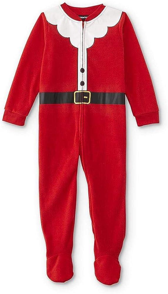 Joe Boxer Infant's & Toddlers' Boys & Girls Christmas Blanket Sleeper Pajamas - Santa Claus (18 Months)