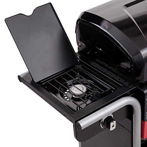 Barbecue hybride Char-Broil Gas2Coal 330 - Barbecue à gaz et charbon à 3brûleurs, finition...