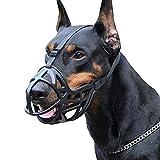 fafafa Bozal de perro suave reflexión para perro (color: negro,...