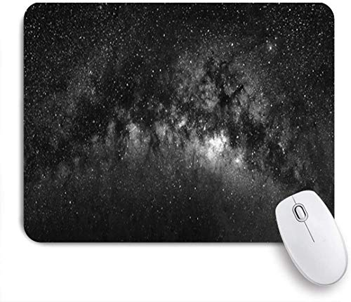 Minalo Gaming Mouse Pad Non-Slip Rubber Base,Fantasy Nature Cosmos View Milky Way Universe Eclipse Star Sky Star Milkyway Science Design Abstract,for Computer Laptop Office Desk,9.5 x 7.9in