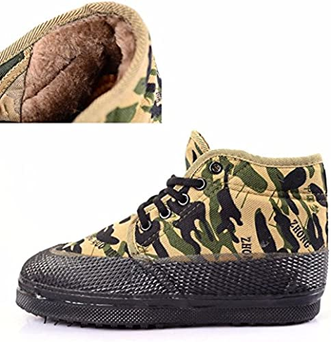 Il fait chaud pour la prougeection hivernale chaussures chaussures de camouflage en hiver
