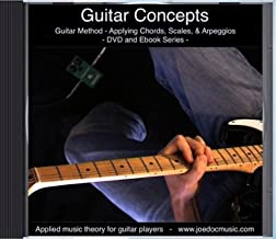 Guitar Concepts - Learn & Apply Chords, Scales, & Arpeggios - Guitar Solo & How-to Setup Lessons