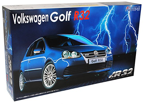 Fujimi Volkwagen Golf V 5 R32 R 32 3 TÜrer Blau Bausatz Kit 1/24 Modellauto Modell Auto