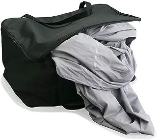Covercraft Zippered Tote Bag-LG Black ZTOTE1BK