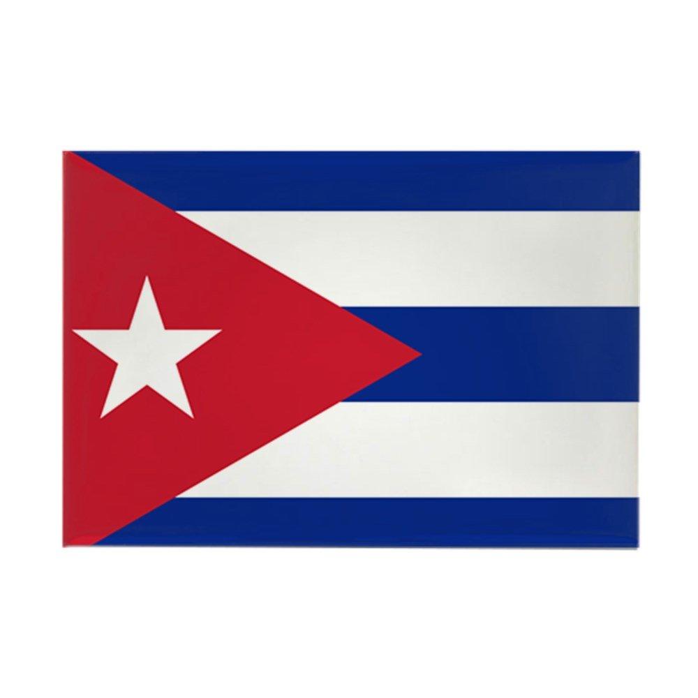 CafePress – bandera de Cuba – rectangular imán, 2