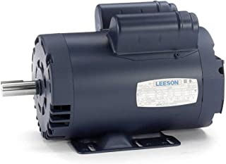 New Leeson Electric Motor 2hp 1ph 115/230Volt 145T Frame 1725 rpm 7/8