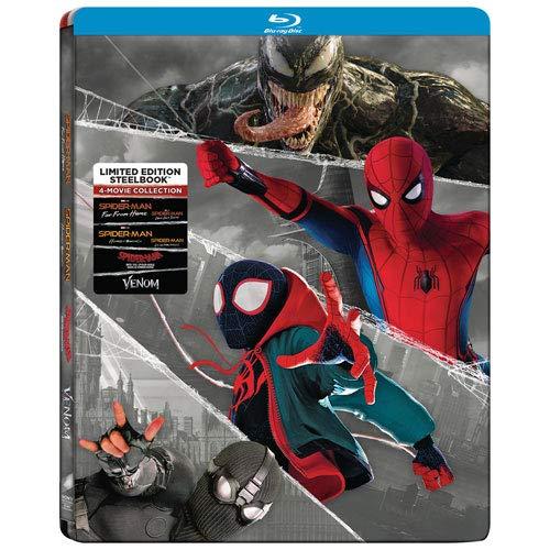 Spider Man 4 Movie Collection Steelbook Venom