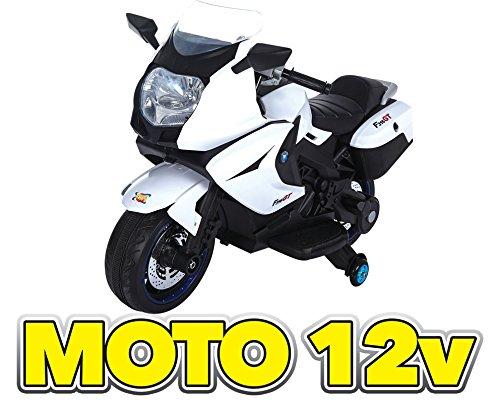 Moto Elettrica 12v Bianca GV-5211