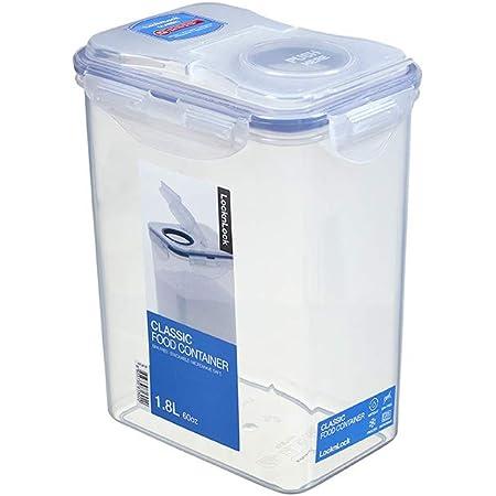 Lock & Lock Boîte rectangulaire avec clapet 1,8 litre