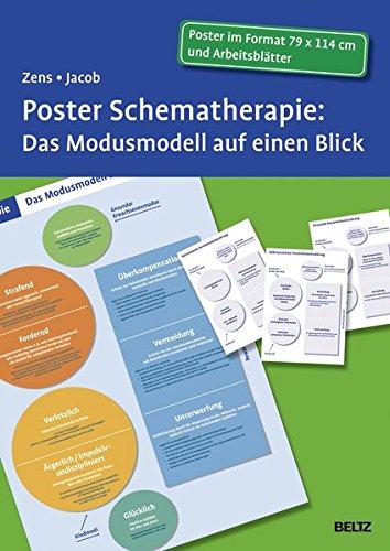 Poster Schematherapie: Das Modusmodell auf einen Blick: Mit Arbeitsblättern in der Sammelmappe. Format Poster: 114 x 79 cm