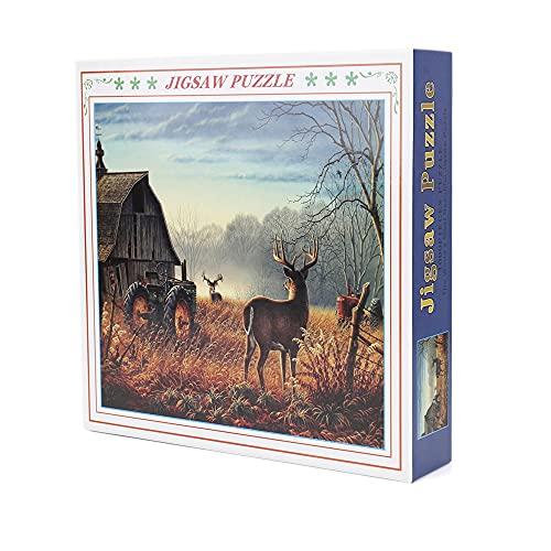 Puzzle 1000 Piezas Adultos Rompecabezas Jigsaw Arte Animales Decoración 10 12 14 9 7 años Panoramicos Baratos Regalos Originales para Hombre Juguetes Navidad Cumpleaños Paisajes Adolescentes