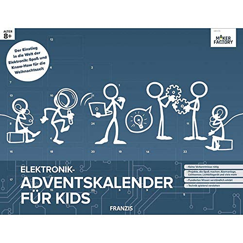 MAKERFACTORY Elektronik-Adventskalender für Kids