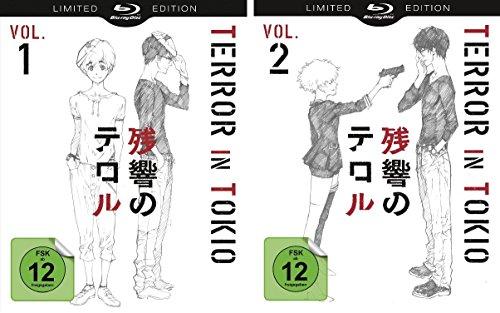 Terror in Tokio Vol. 1 + Vol. 2 (Limited Special Edition) im Set - Deutsche Originalware [2 Blu-rays]