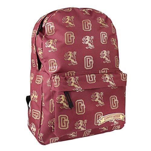 ARTESANIA CERDA Mochila Escolar Instituto Harry Potter, Unisex Adultos, Rojo (Rojo), 12x44x30 cm (W x H x L)