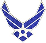Air Force - US Air Force 3 inch x 3 inch Wings Patch