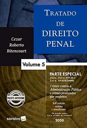 Tratado de Direito Penal - Vol. 5 - 14ª edição de 2020