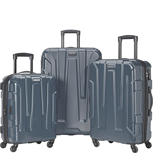 Samsonite Centric Hardside Luggage, Blue Slate, 3-Piece Set