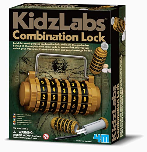 4M - Combination Lock, Juego Educativo (004M3362)