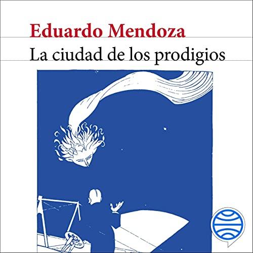Diseño de la portada del título La ciudad de los prodigios