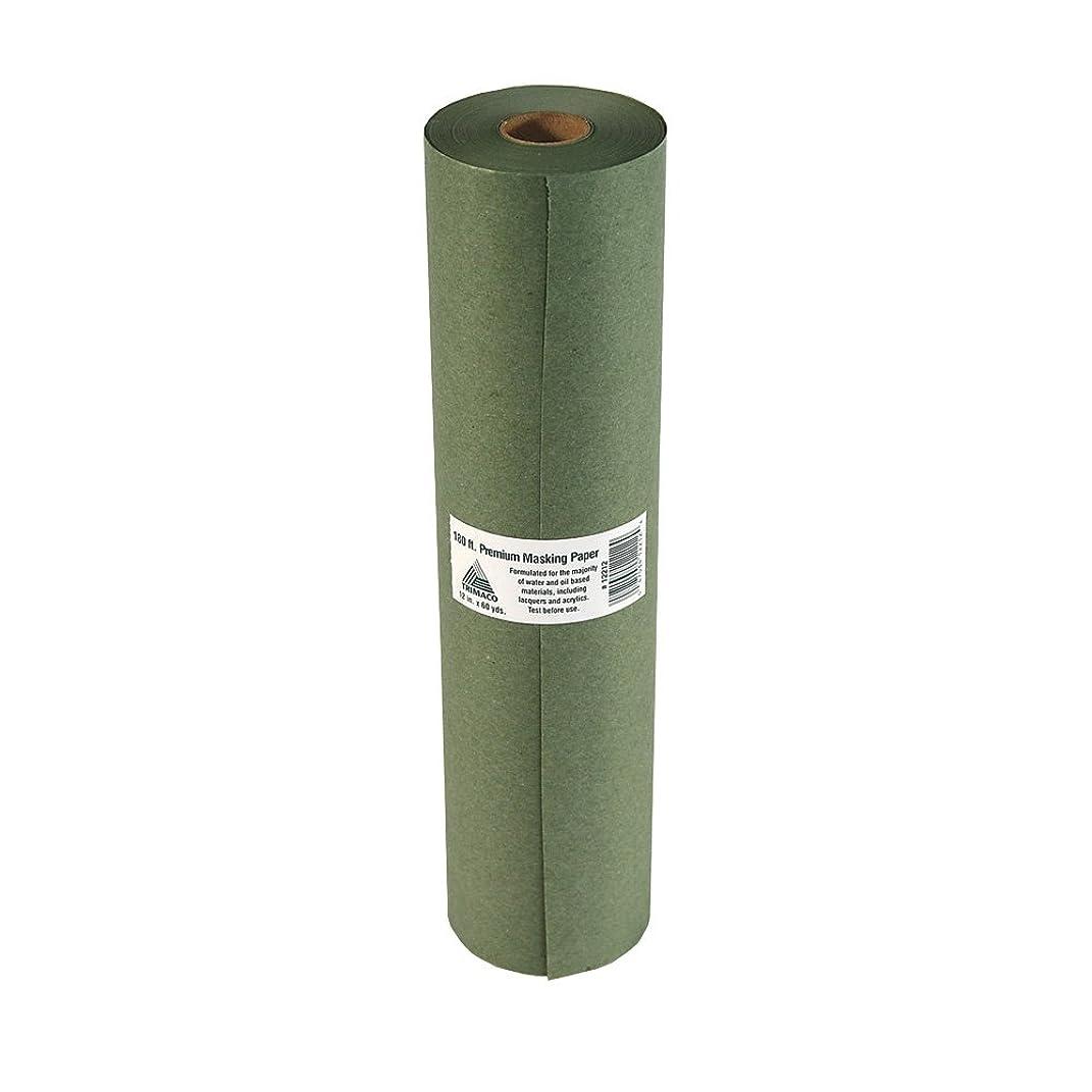 Trimaco PR12 Masking Paper, 12-inch x 60-yard, green