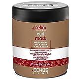 Echosline Seliàr Curl Mask – Maschera Controllo Ricci Con Miele E Olio Di Argan - 1000 ml