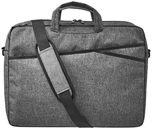 Amazon Basics – Businesstasche für Laptop, 43 cm, grau