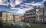 Puzzle de 1000 Piezas para Adultos Venecia Italia Canales Pu